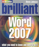 Brilliant Microsoft Word 2007