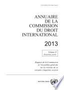 Annuaire De La Commission Du Droit International 2013 Vol Ii Partie 2