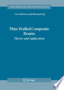 Thin Walled Composite Beams