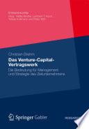 Das Venture Capital Vertragswerk