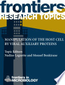 Manipulation of the host cell by viral auxiliary proteins
