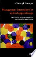 Management interculturel et styles d apprentissage