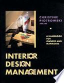 illustration du livre Interior Design Management