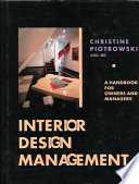 illustration du livre Interior Design Management