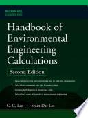 Handbook of Environmental Engineering Calculations 2nd Ed