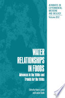 Water Relationships In Foods book
