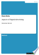 Aspects of Digital Advertising