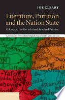 Literature Partition And The Nation State book
