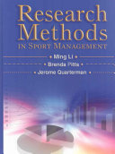 Research Methods in Sport Management