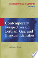 Contemporary Perspectives on Lesbian  Gay  and Bisexual Identities