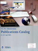 Usfa Publications Catalog