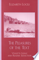 The Pleasures of the Text