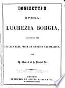 Donizetti S Opera Lucrezia Borgia