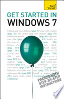 Get Started in Windows 7  Teach Yourself