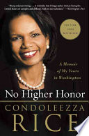 Book No Higher Honor