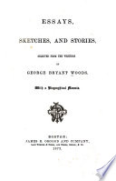 Essays, Sketches and Stories