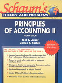 Schaum s Outline of Principles of Accounting II