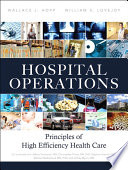 Hospital Operations : healthcare expenditures that don't improve...