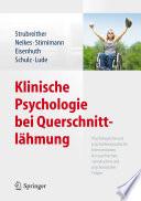 Klinische Psychologie bei Querschnittlähmung