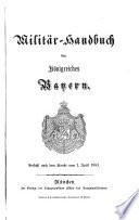 Militär-Handbuch des Königsreich Bayern
