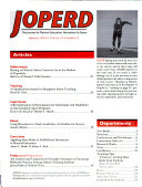 Journal of Physical Education, Recreation & Dance