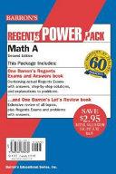 Math A Regents Power Pack