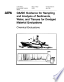 Qa Qc Guidance For Sampling And Analysis Of Sediments Water And Tissues For Dredged Material Evaluations Chemical Evaluations book