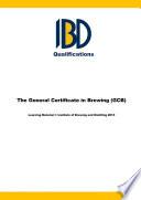 General Certificate in Brewing