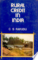 Rural Credit in India