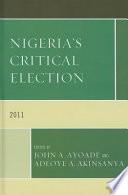 Nigeria s Critical Election  2011