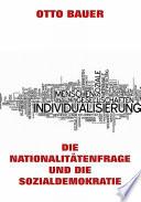 Die Nationalit  tenfrage und die Sozialdemokratie