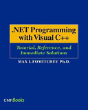 NET Programming with Visual C