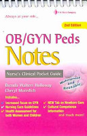 OB GYN and Peds Notes