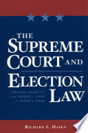 The Supreme Court And Election Law