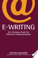 E Writing