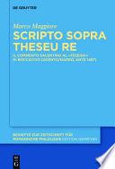 Scripto sopra Theseu Re