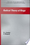 Radical Theory Of Rings