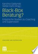 Black Box Beratung