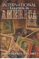 International Taxation in America  2013 Edition