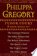 Philippa Gregory s Tudor Court 6 Book Boxed Set