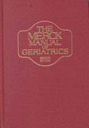 The Merck Manual of Geriatrics