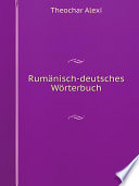 Rum nisch deutsches W rterbuch