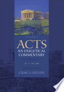 Acts  An Exegetical Commentary   Volume 2