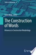 The Construction of Words