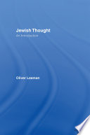 Jewish Thought : philosophies and worldviews, explores debates which have preoccupied...