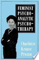 Feminist Psychoanalytic Psychotherapy