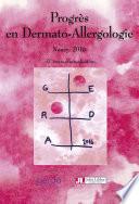 Actualités en Dermato-Allergologie, Nancy 2016