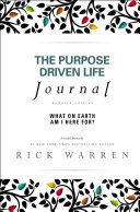 The Purpose Driven Life Journal