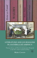download ebook literature and journalism in antebellum america pdf epub