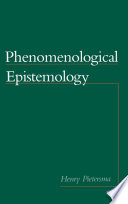 Phenomenological Epistemology